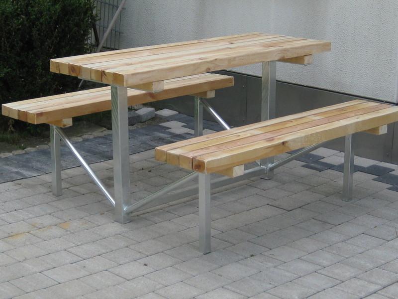 Schlosserei G. Mayer - >>> Gabionen / Gartenbank- Elementgruppe <<<